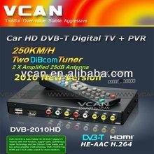 DVB-T mpeg4 avc /h.264 tv receiver DVB-T2010HD-421 Car DVB-T box MPEG4/H.264, PVR