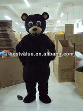 black bear mascot black bear cartoon mascot costumes advertising carnival costume