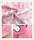 China FDY 150D/96F Printed Polar Fleece Blanket with Anti-pilling 2013 polar fleece fabric with anti pilling