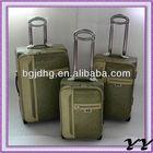 eminent pu trolley bag luggage sets