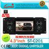 2004-2005 Dodge Neon Car DVD/GPS with HD 1080P Radio bt phonebook ipod GPS 3 zone WIFI 3G V-20 CDC PIP...
