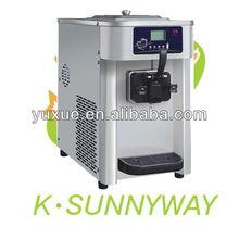 soft serve frozen yogurt machine/table top/one flavor/ice cream freezer