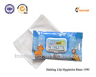 natural biodegradable Disposable Pet glove wet wipes/tissues/towels