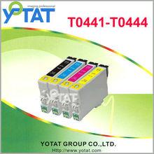 YOTAT Inkjet cartridge Compatible for Epson T0441 T0442 T0443 T0444