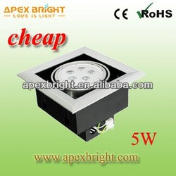 5W rv ceiling light Low Cost 85-265V AC
