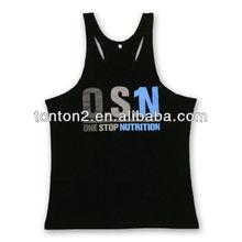 gleamy sublimation sporting running singlets/gym vest custom