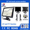 15Inch POS Touchscreen TFT LCD Used Computers Monitor
