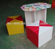 alphabet stduy table for preschooler