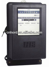 Three Phase Mechanical Energy Meter (Black Cover Metalic Base)