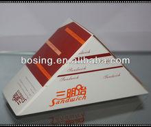 Pyramids sandwich box,pizza box, food packaging