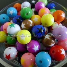 Acrylic Chunky Bubblegum beads landing for making chunky bubblegum necklaces!! 12mm/16mm/20mm Mixed colors!! !!