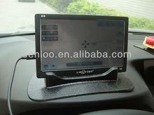 Car Sat Nav Tomtom GPS Rubber Dash Board Ostart Universal Jelly Sticky Pad Anti-slip Non-slip Mat - Black