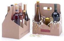 Wine Bottle Paper Carriers