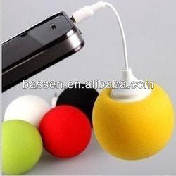 3.5mm Docking Stereo Music Balloon Ball For iPhone Speaker