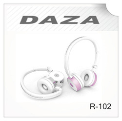 Fancy design R-102 with bluetooth wireless music headphone