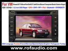 "6.2"" Car DVD Player with GPS Navigation For VW Passat (MK5) /Jetta /Bora /Polo(MK3,4) /GOLF(MK4)"