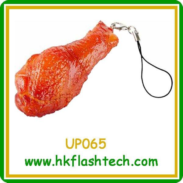 Attractive chicken legs shape usb 2GB&4GB&8GB flash disk