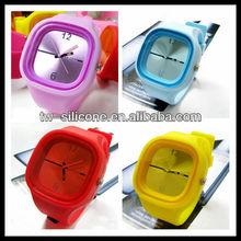 2015 Creative mirror LED watch. jelly watch. wrist watch