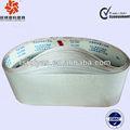 Revestimento abrasivo lixar cintos para os tipos de metais ferrosos, cobre, liga de alumínio, etc.