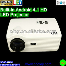 Wholesale 3000ANSI 3LCD projector,full hd projector for home theater,school with excellent display effects in daytime!!