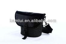 Hot sell black dslr canvas camera bag