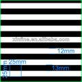 blanco y negro de banda de tela spandex