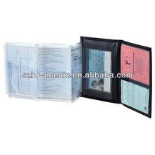 Plastic Travel Document Folder