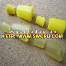PU Custom Polyurethane Bushings Yellow Tapered