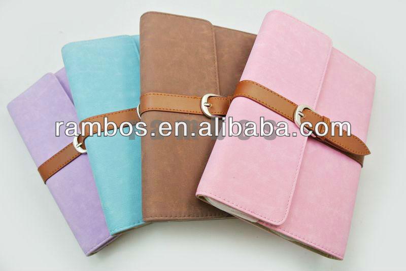 Belt Leather PU Flip case for iPad Mini