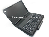 Foldable Leather Bluetooth Wireless Stand Keyboard case for iPad mini