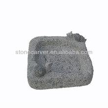 Nature Granite Stone Carving Birdbath