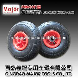 300-4 small semi pneumatic wheels for wheelbarrow