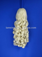 2013 Fashion synthetic claw clip ponytail PN-0064