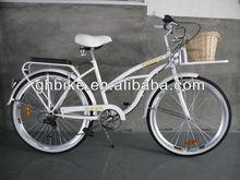 28 inch 6S speeds lady beach cruiser bike