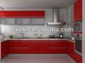 UV Mueble pintado de cocina puerta (tablero MDF conforme a E1, E2 estándar))