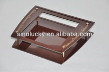 Brown acrylic Cigarette display shelf