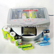 Best Universal alkaline battery charger Suitable for 1-4 pcs AA/AAA 1.2V, C, D,&1pcs9v PP-9600