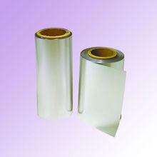 Metallized PET film with plasma treated