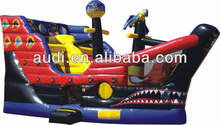 inflatable pirates of Bermuda superize csatle/slide