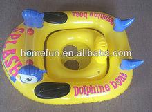 banana floating Rowing boat,Inflatable pool raft,beach canoe,PVC kayaks