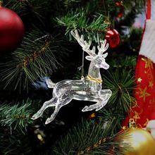 Plastic Glitter decorative items for Christmas