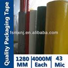 bopp adhesive jumbo roll with acrylic glue