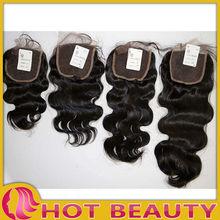 New hot sale high quality reasonable price brazilian virgin hair top closure