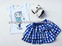 beautiful girls clothing set, children clothing set