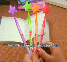 cute colorful and attached student pen