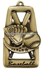 blast die cut sport baseball medal