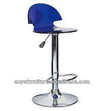 AY-B32 modern plastic seat used bar stools