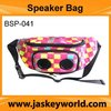 disc golf bag with speaker