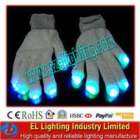 Led work gloves &Flashing magic finger gloves