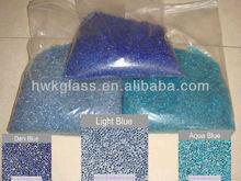 Blue Glass Bead Pebble for Pool Plaster